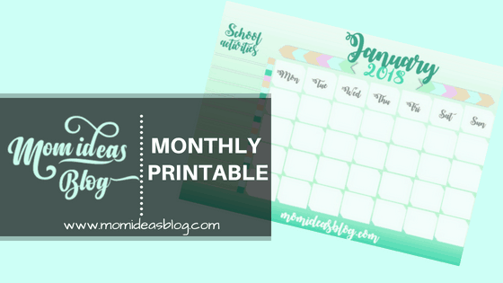 Monthly Printable Mom