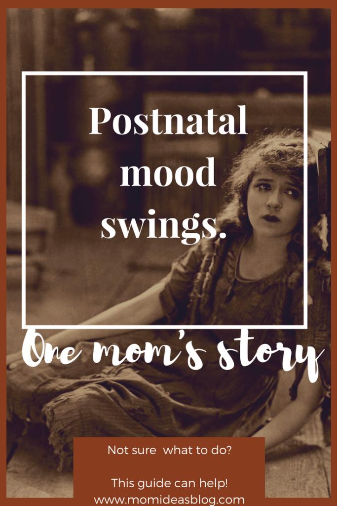 Postnatal mood swings