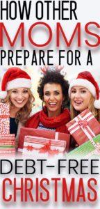 Christmas saving these moms use.