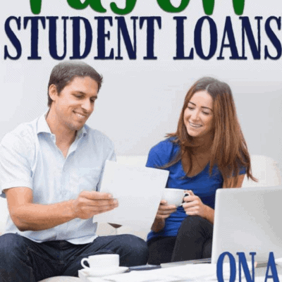 How to pay off student debts on a small income