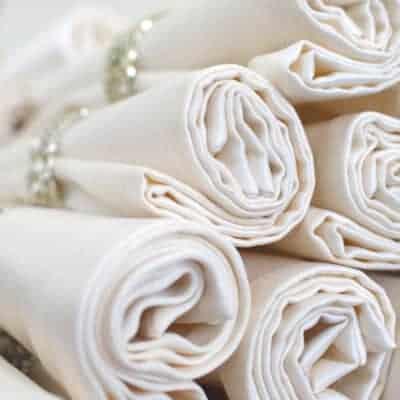 Cloth napkins save money
