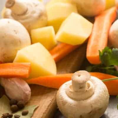 mushroom soup ingredients