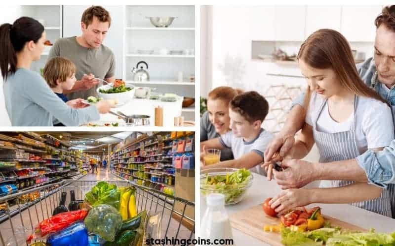 Easy school night dinner ideas for family of four
