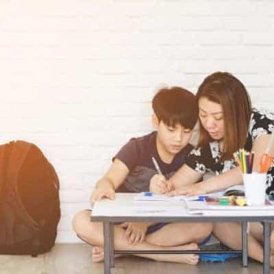 Tutor school children during school hours