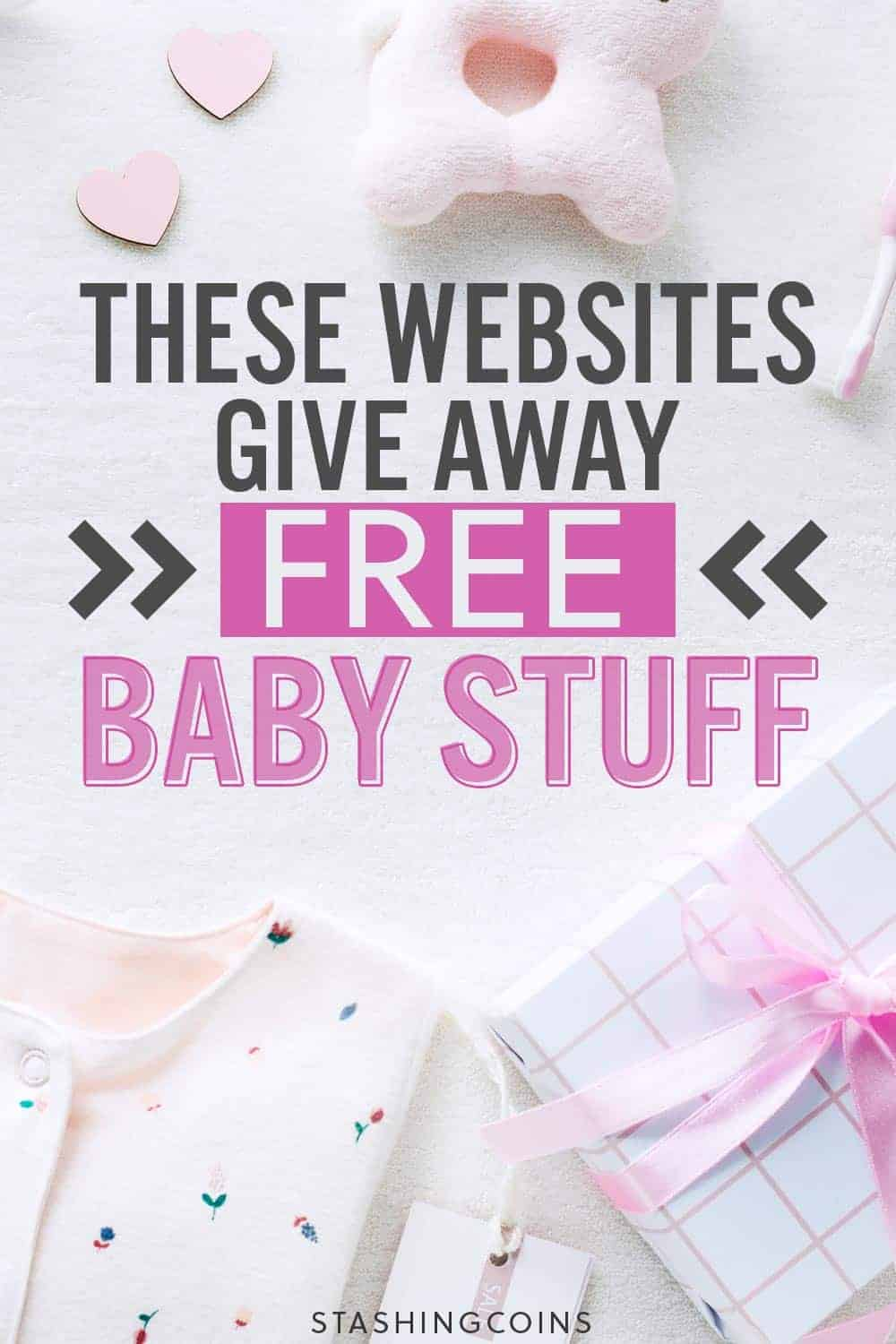 Websites that give away free baby stuff