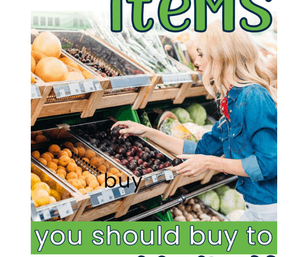 Generic items that save money on the grocery bill.