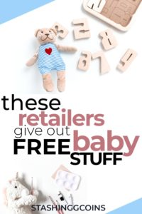 Retailers that give out baby freebies to expectant moms
