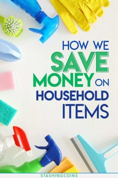How you can save money on household items