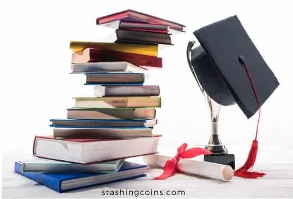 Graduate college debt free