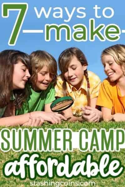 Ways to make summer camp affordable