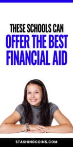 Schools that offer financial aid to college students