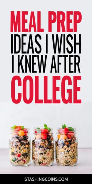 Meal prepping ideas for after college