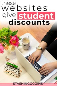 These websites that give college students discounts