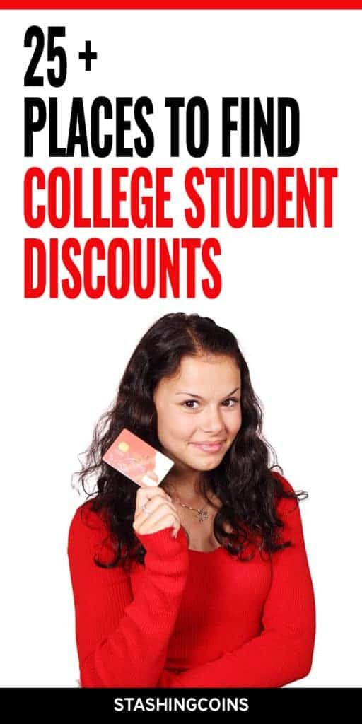 Where to find college student discounts