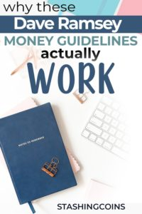 Dave Ramsey money guidelines