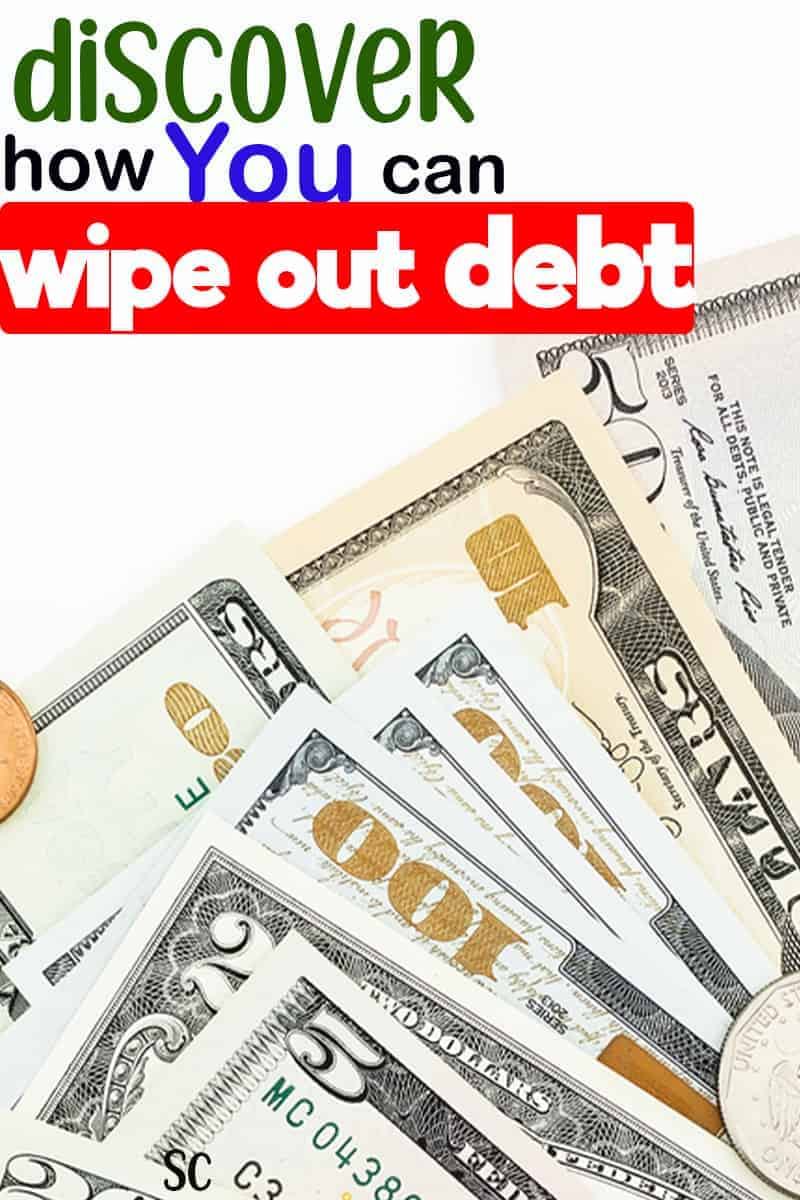 Discover how you can wipe out your debt