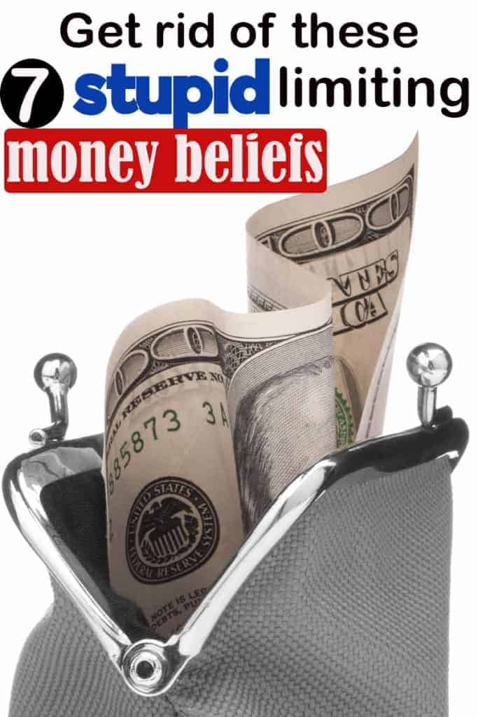 Limiting money beliefs affecting your finances