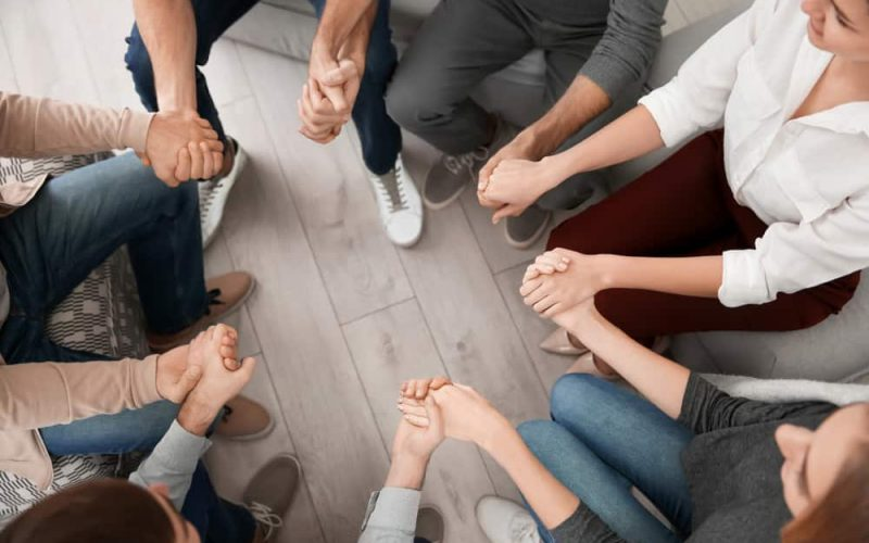 Join paying off debt support groups
