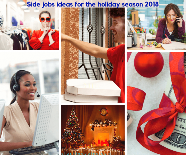 Extra cash side job ideas in time for Christmas season
