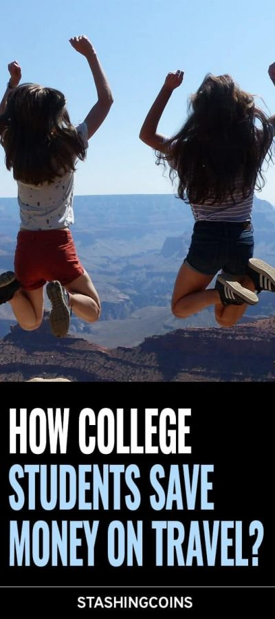 How can college students save on travel